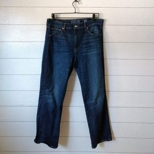 Lucky Brand Authentic Straight Crop Jeans 30 / 10
